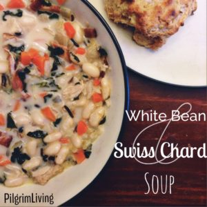 White Bean & Swiss Chard Soup