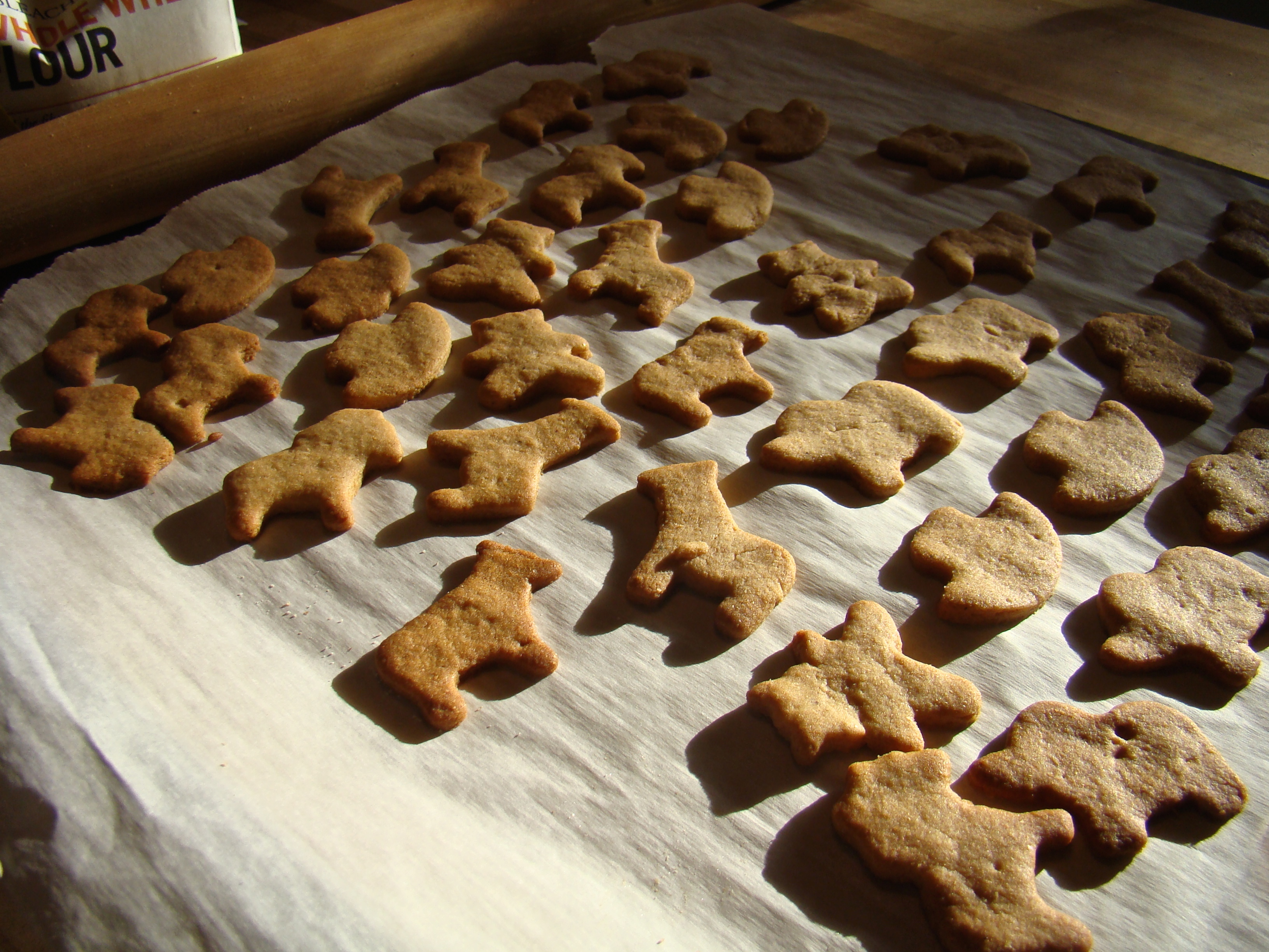 healthy animal cookies