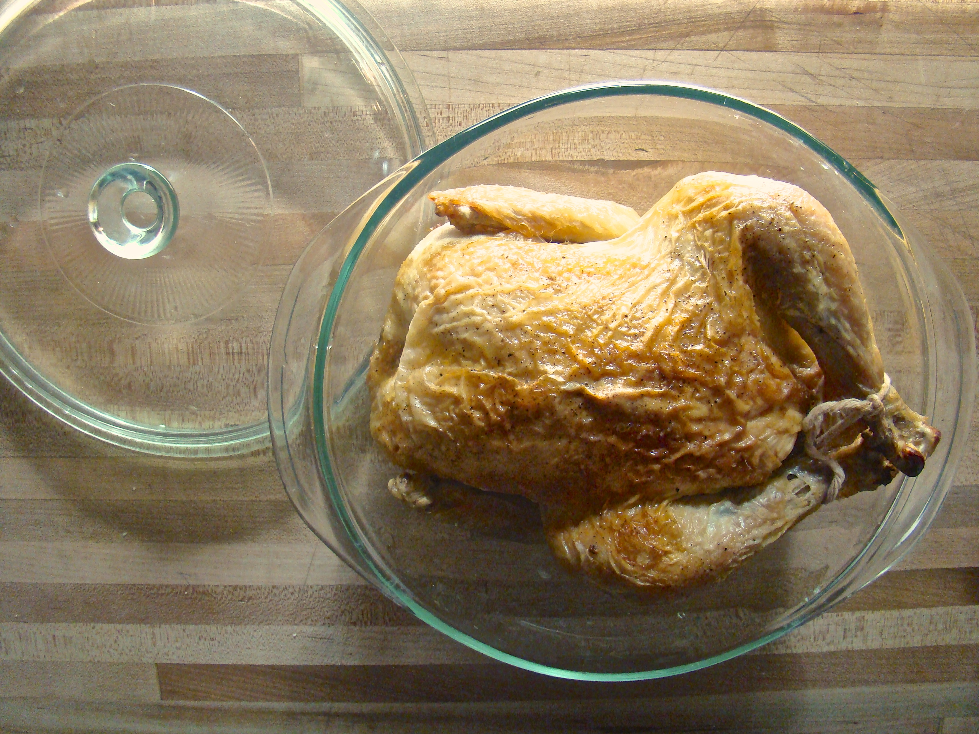 How to roast a whole chicken and turn it into five meals.