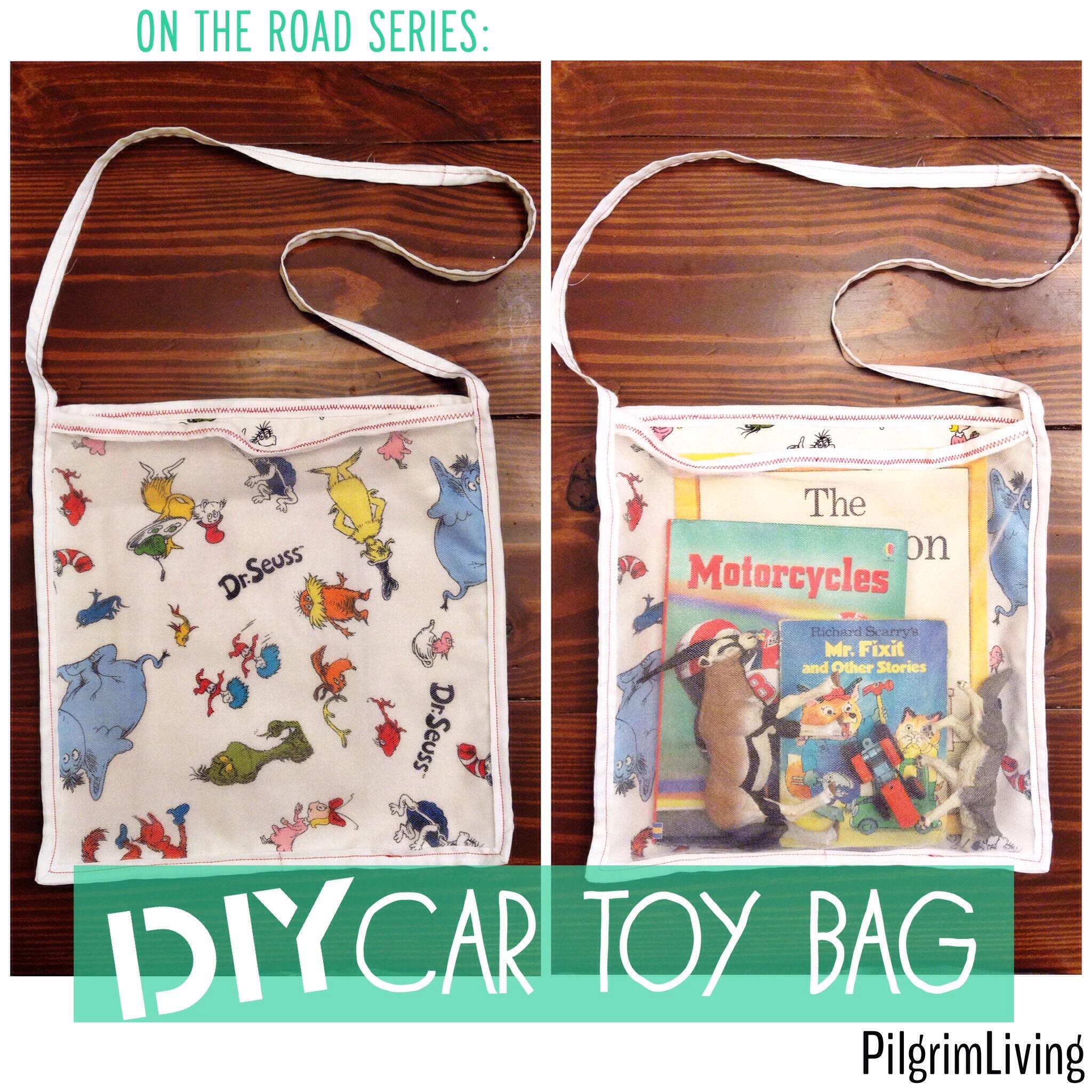DIY Car Toy Bag