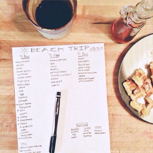 Meal planning on vacation this pilgrim life meal planning on vacation forumfinder Gallery