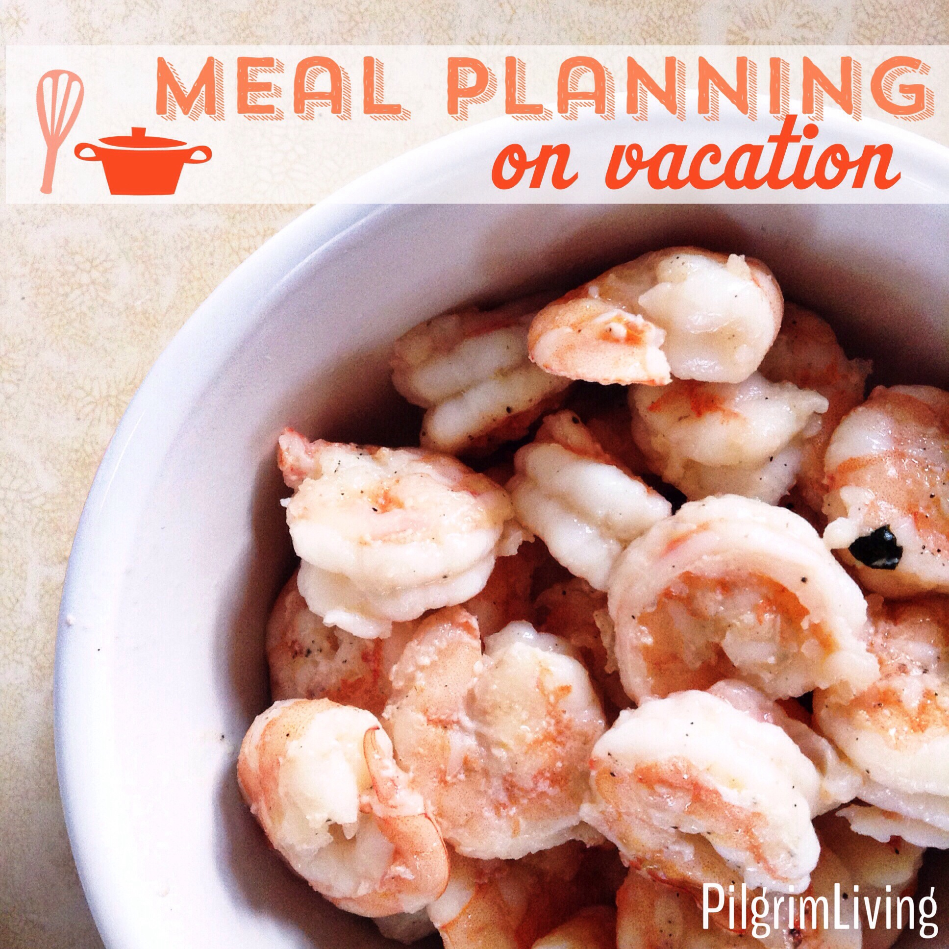 Meal Planning On Vacation