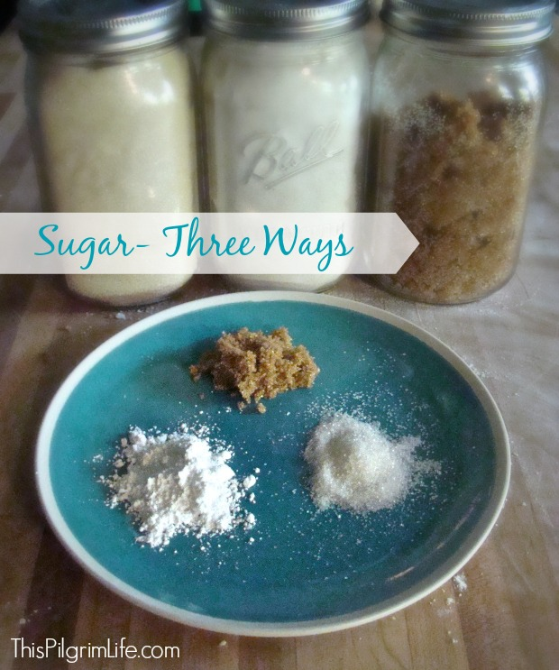 Sugar Three Ways