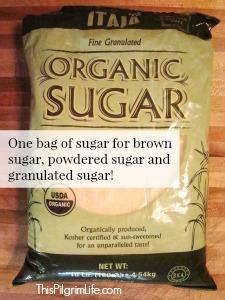 Sugar Three Ways