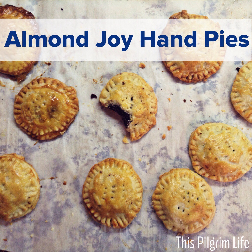 almond joy hand pies