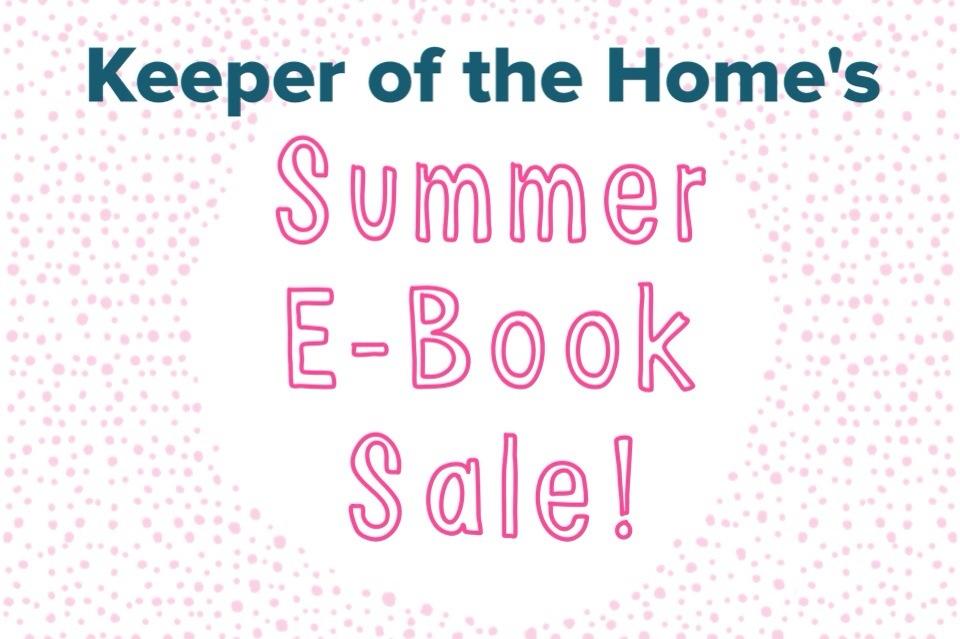Summer E-Book Sale