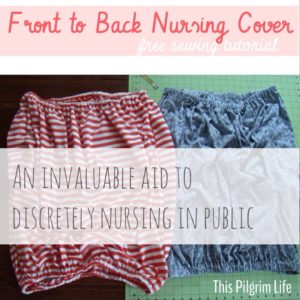 Front to Back Nursing Cover