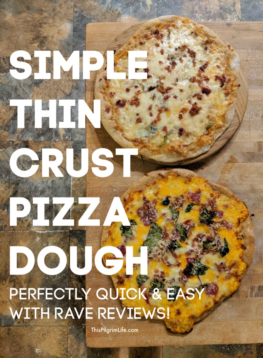 You'll be amazed at how easy it is to make homemade pizza dough! It's so quick and easy, perfect for pizza, calzones, Stromboli, and more!