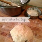 Simple Thin Crust Pizza Dough