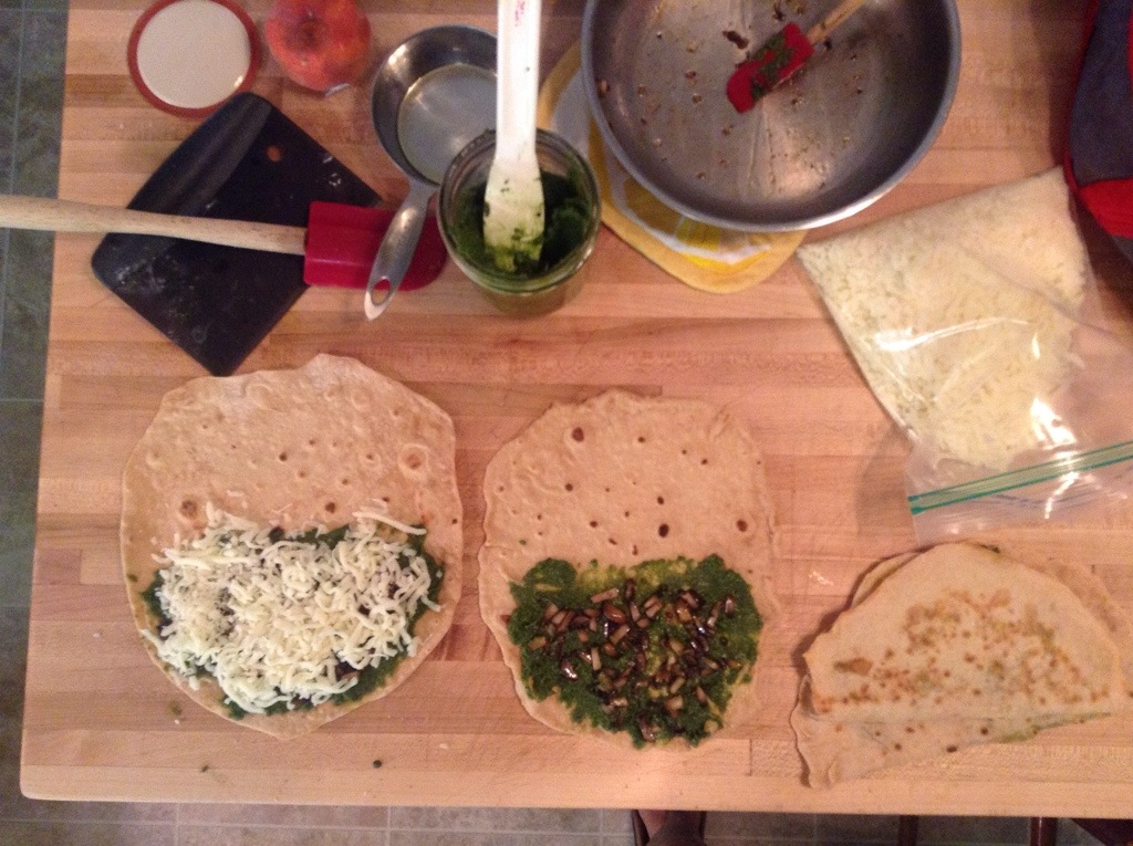 Five Twists on Cheesy Quesadillas
