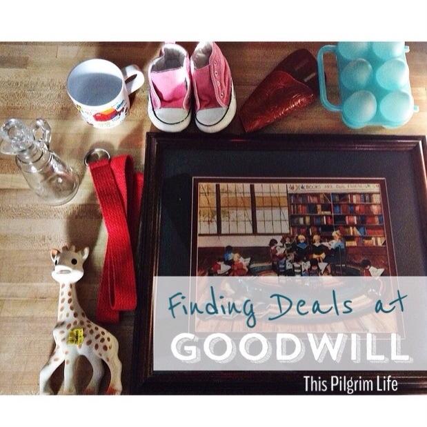 Finding Deals at Goodwill
