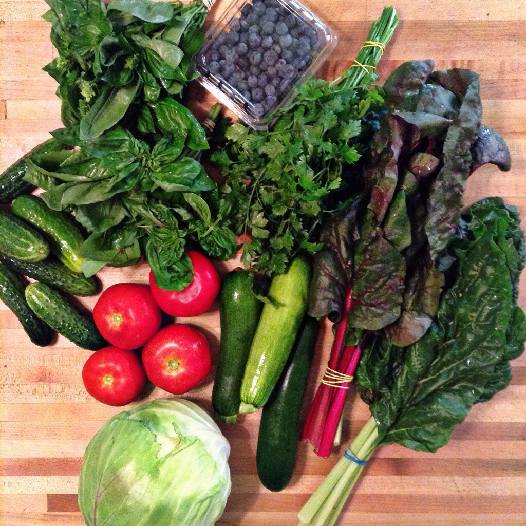farmers' market bounty