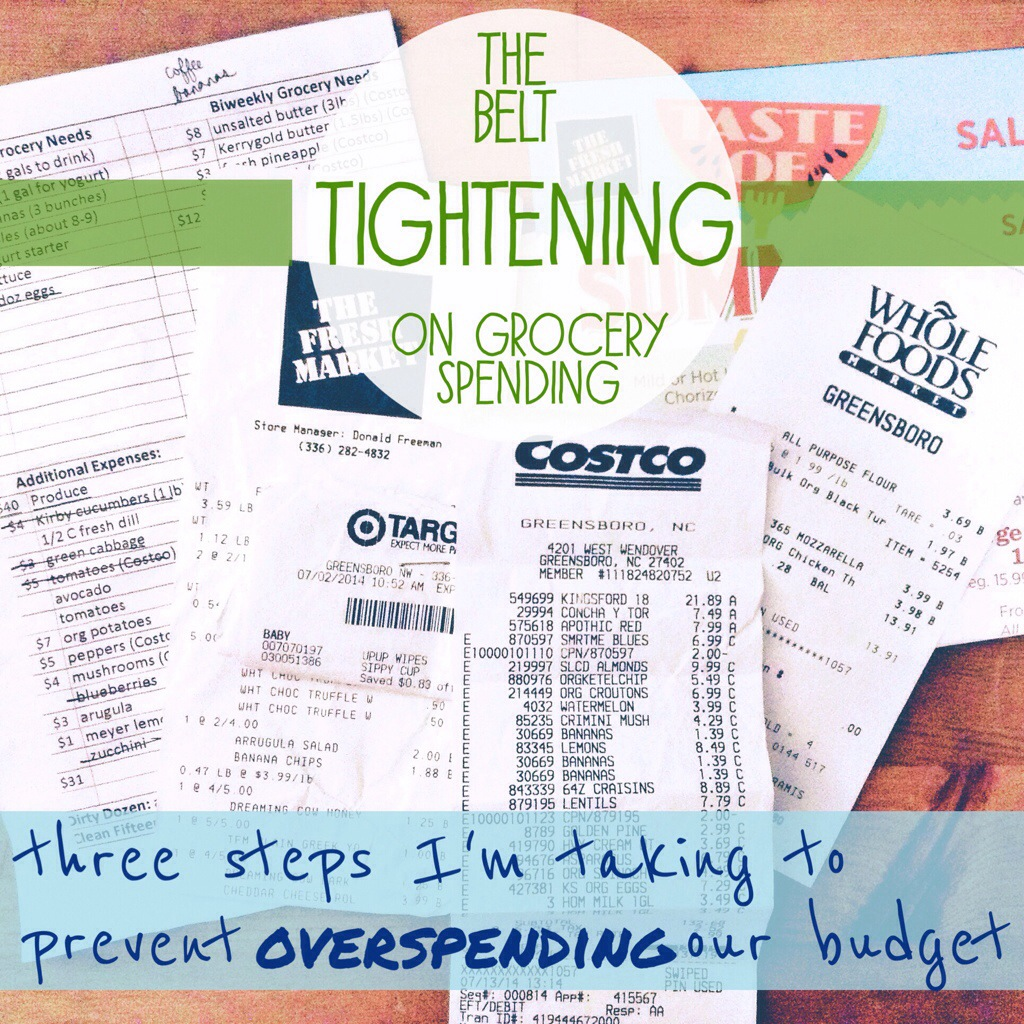 Tightening the Belt on Grocery Spending
