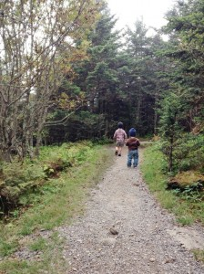 A Week In the Woods: Sample Itinerary