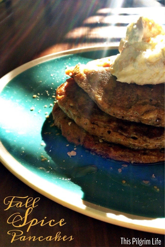 Fall Spiced Pancakes