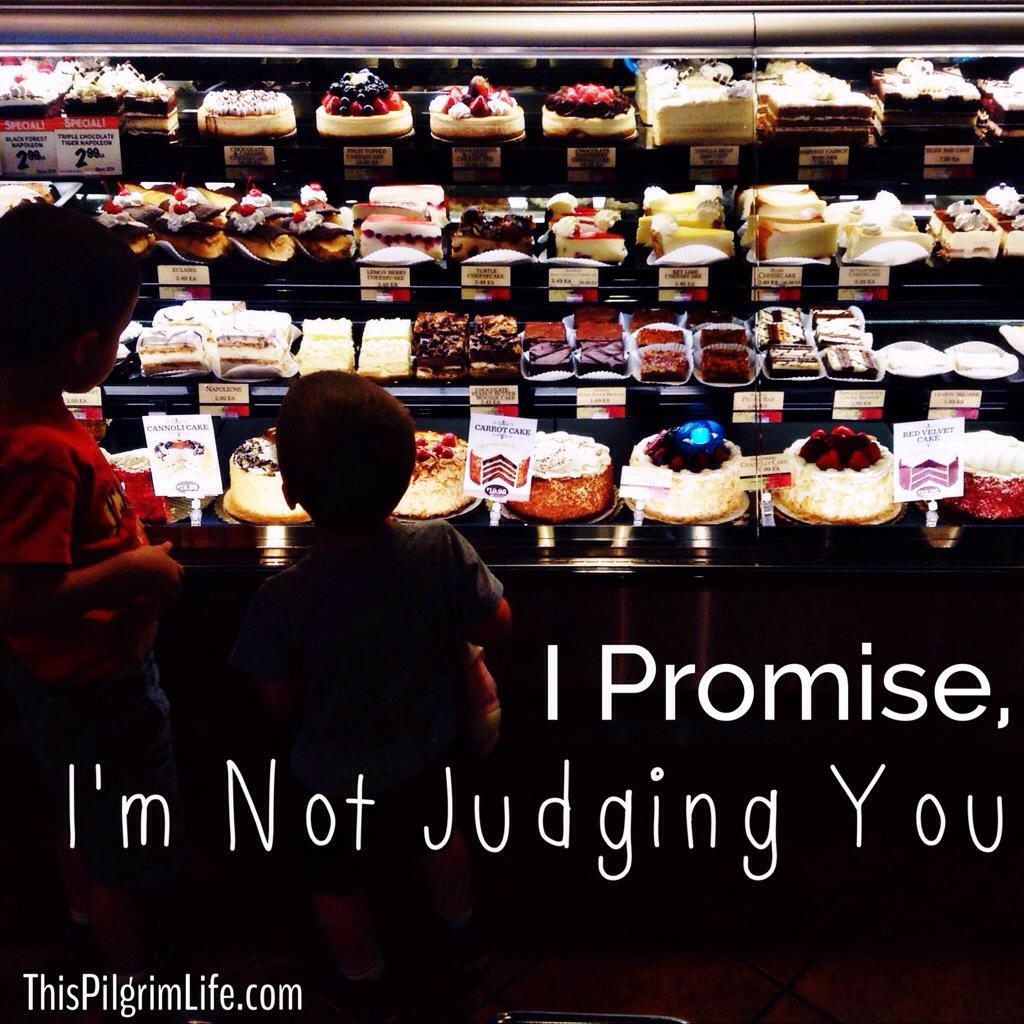 I Promise, I'm Not Judging You