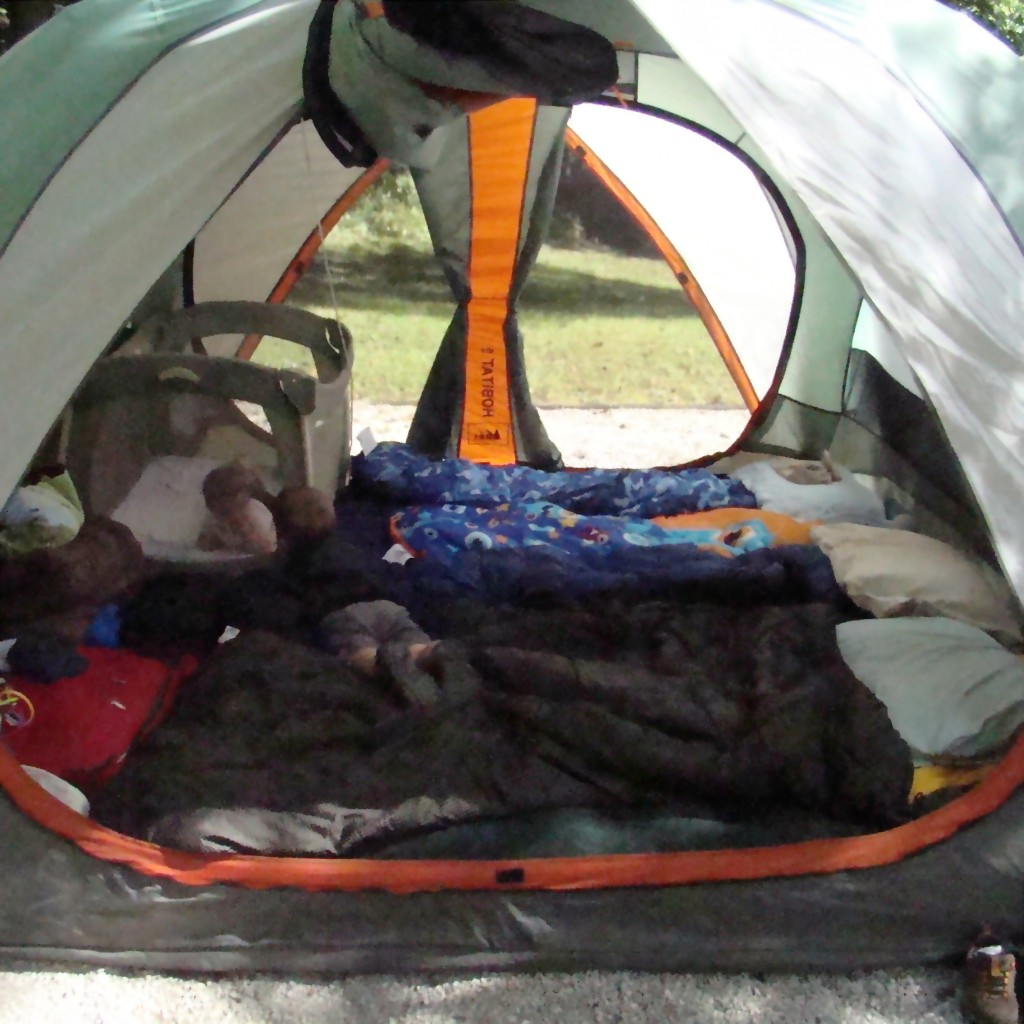 Camping with three small children may have its challenges, but it's worth it!