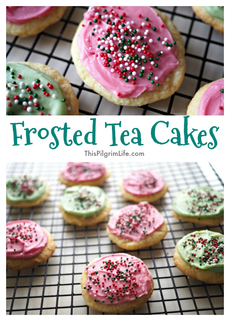 Frosted Tea Cakes