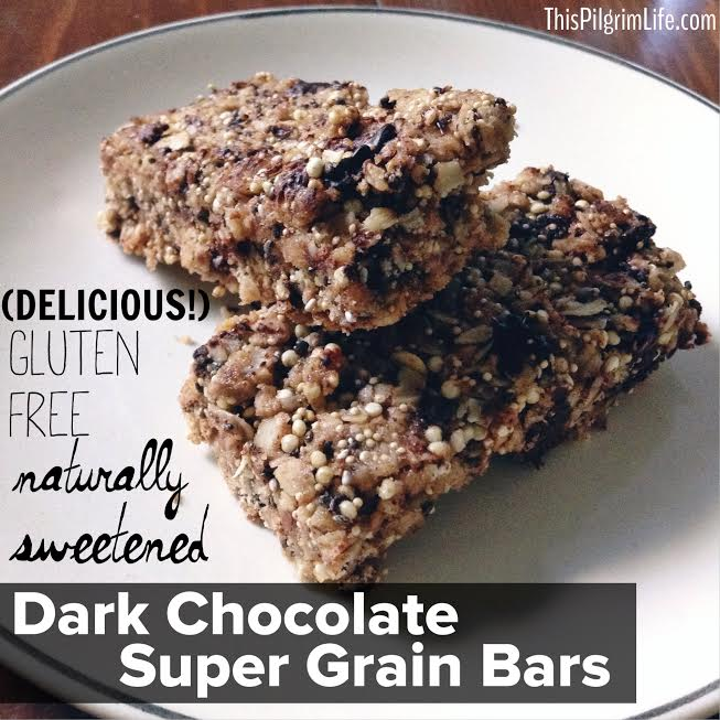 Dark Chocolate Super Grain Bars