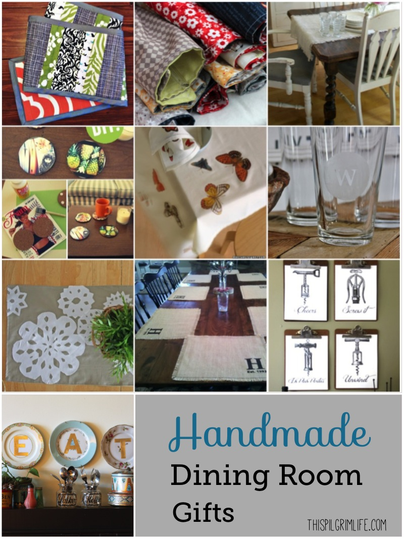 Handmade Gifts for the Home Roundup