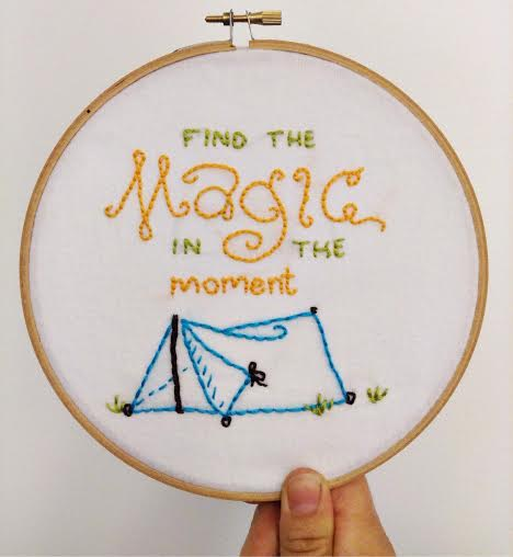 Simple Embroidery Art