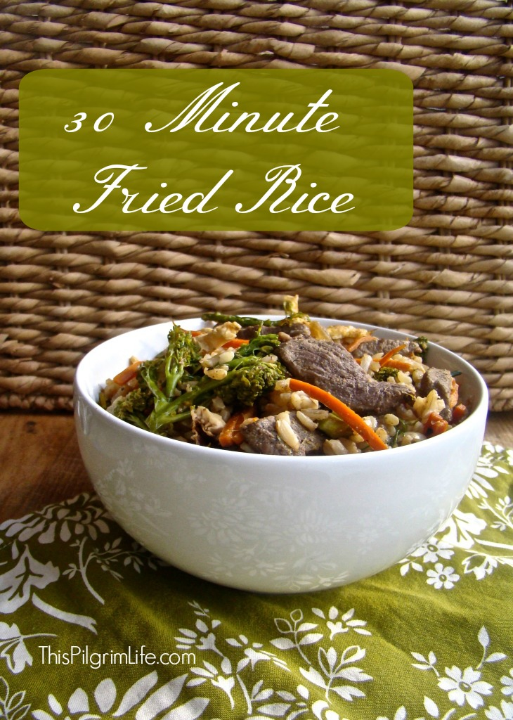 30 Minute Fried Rice