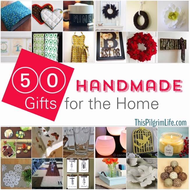 Handmade Gifts for the Home Round-Up
