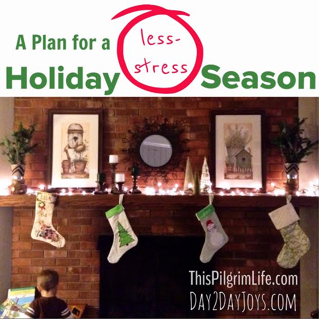 A Plan for A Less-Stress Holiday Season