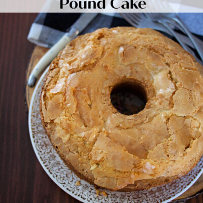 Best Old-Fashioned Pound Cake