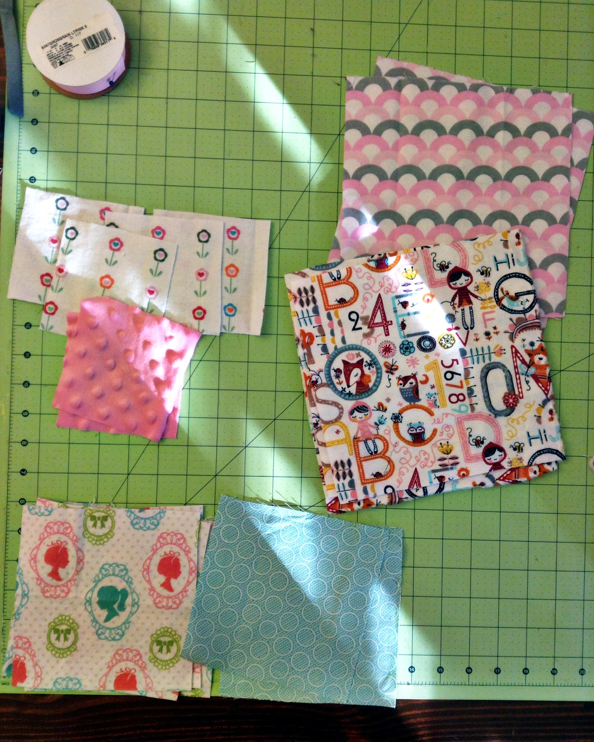 Cloth Blocks Trio