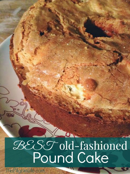 Old Fashioned Chocolate Pound Cake