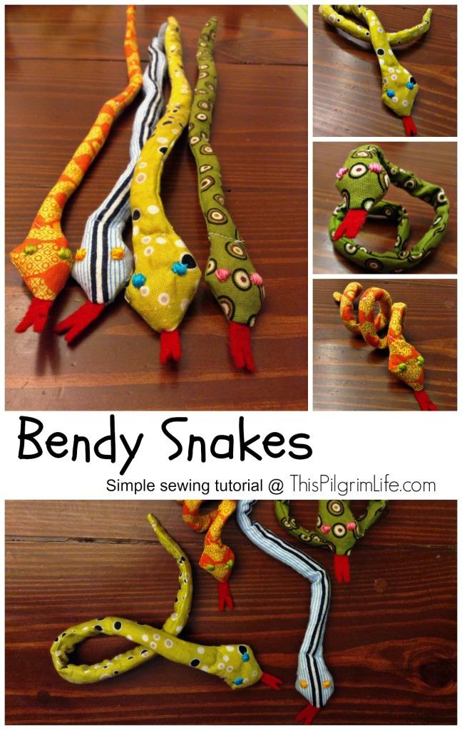 Bendy Snake Tutorial