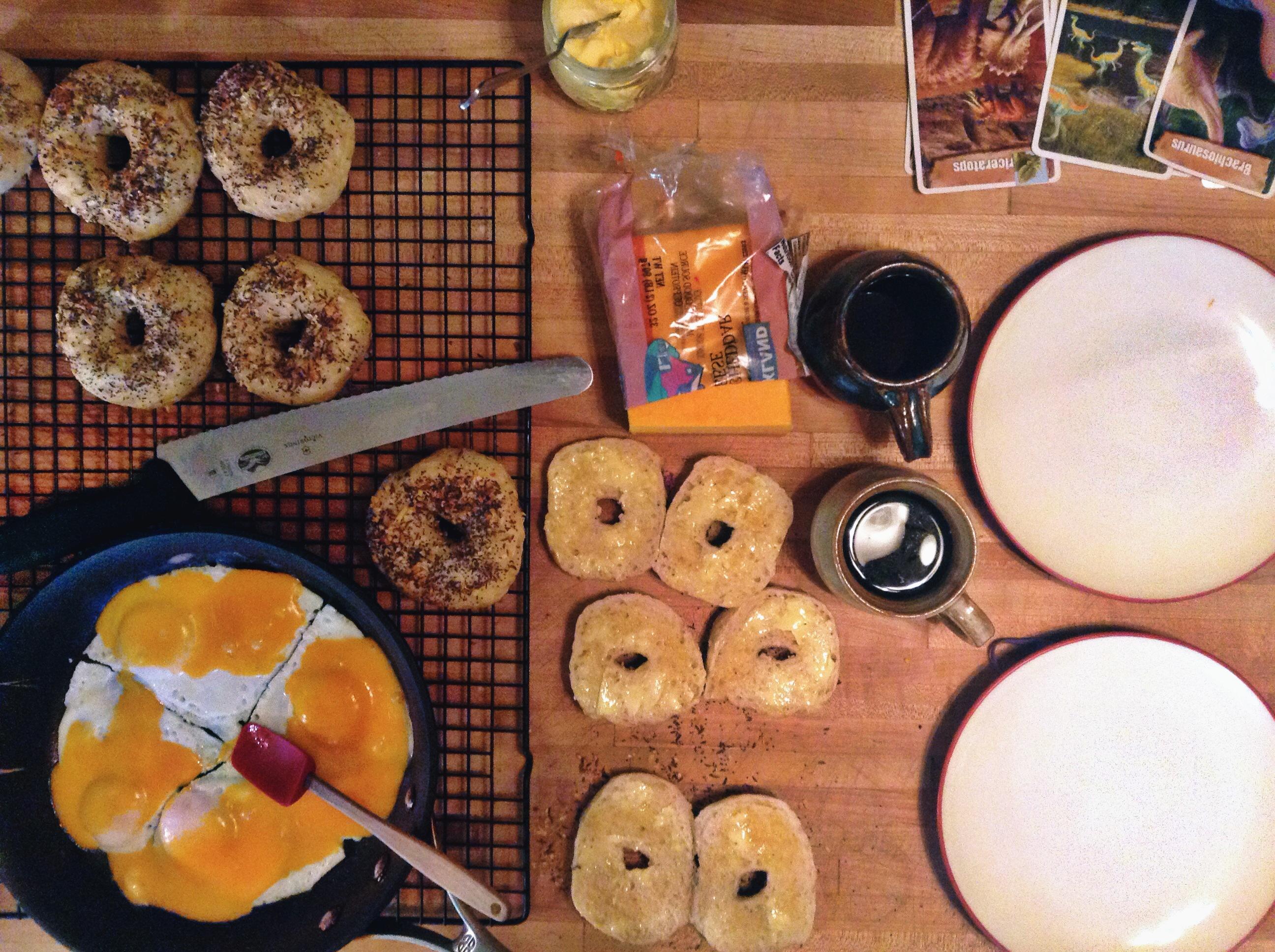 Bagels for Breakfast