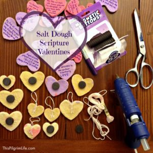 Salt Dough Scripture Valentines