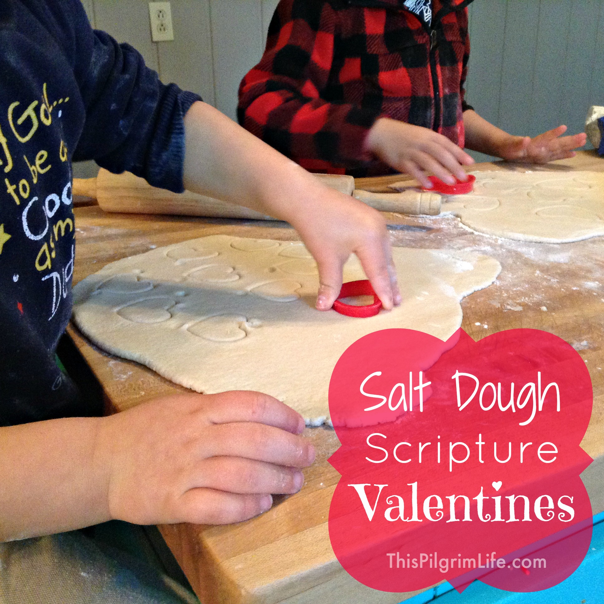 Salt Dough Scripture Valentines