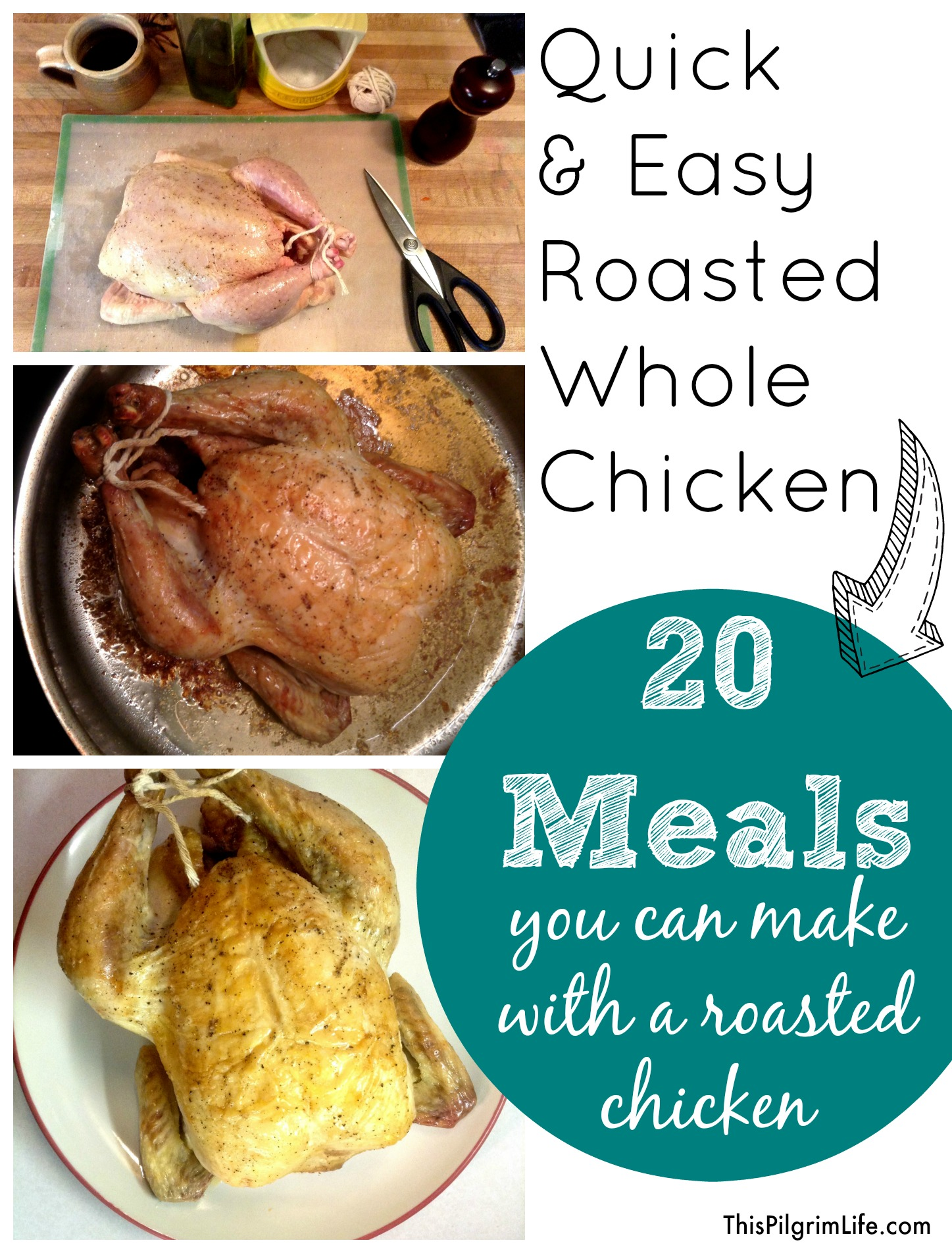 20 Meals You Can Make with a Roasted Whole Chicken