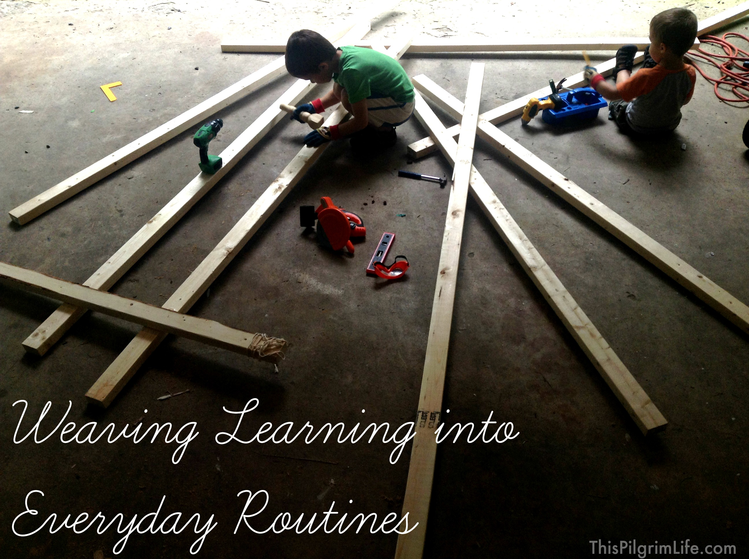Weaving Learning Into Everyday Routines