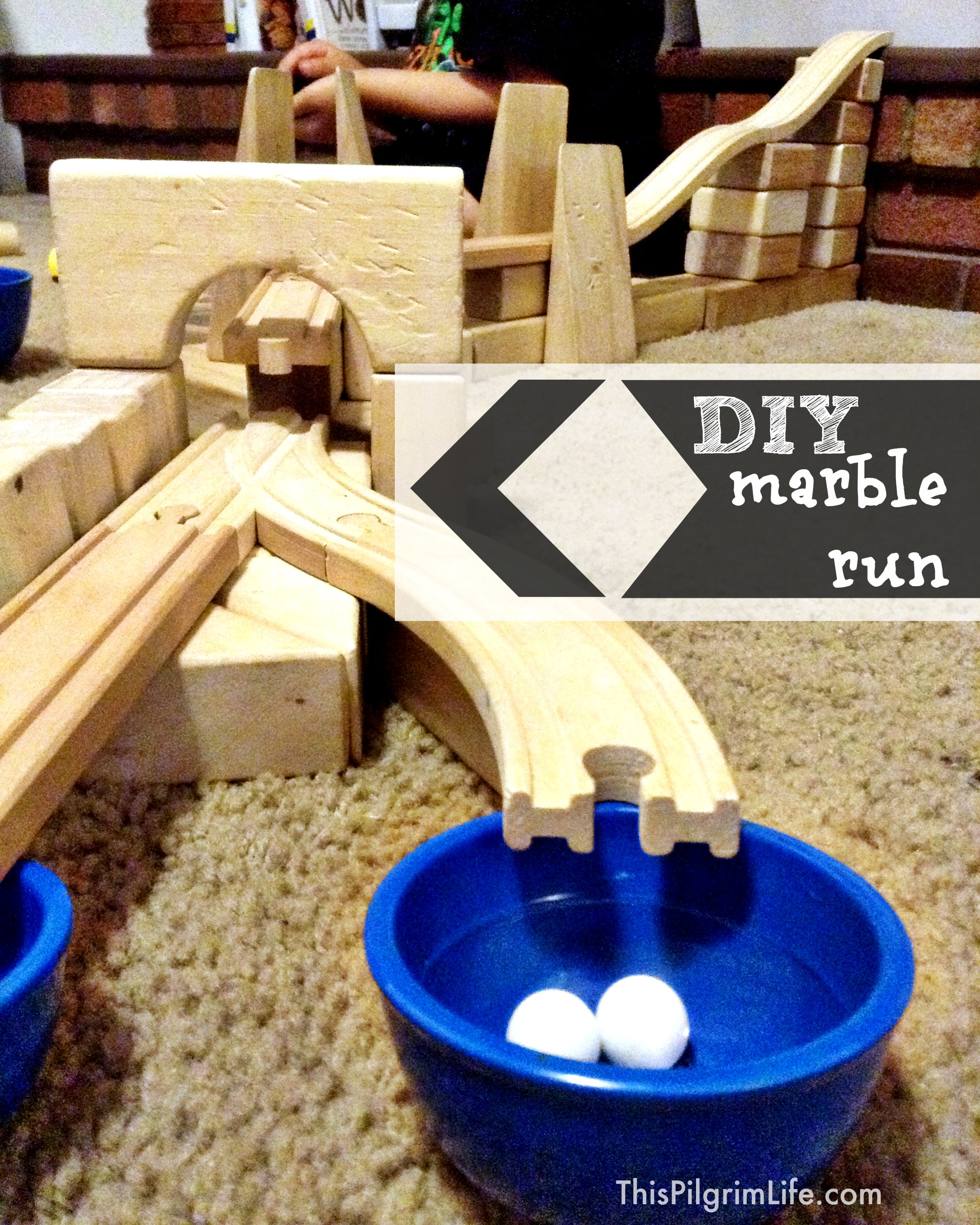 Diy Marble Run This Pilgrim Life