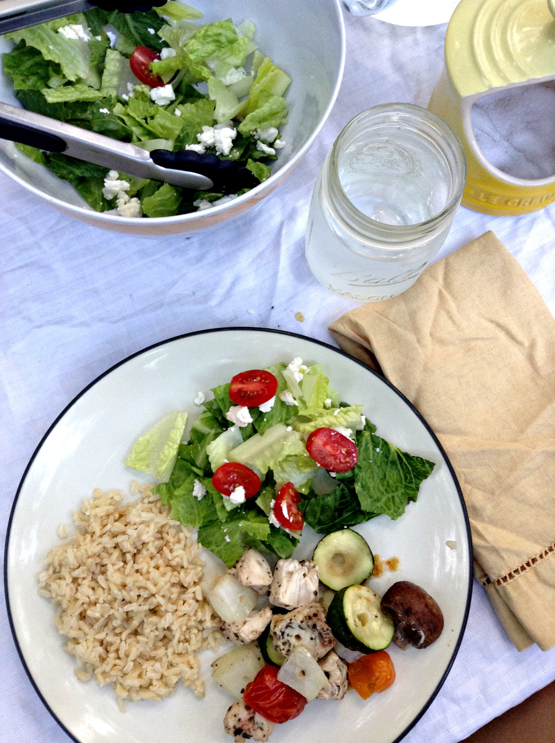 copycat zoe's kitchen & dinner al fresco - this pilgrim life
