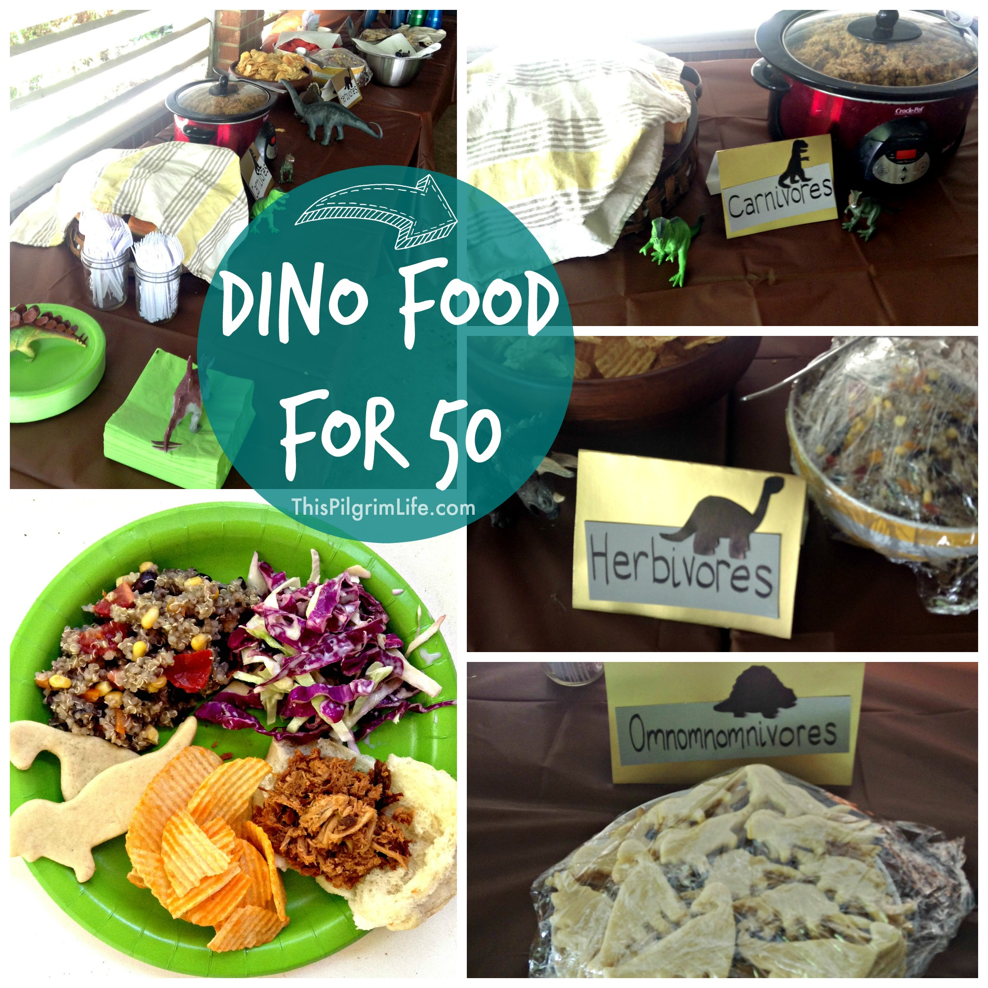 Feeding fifty friends at a birthday party was healthy and frugal with this delicious menu!