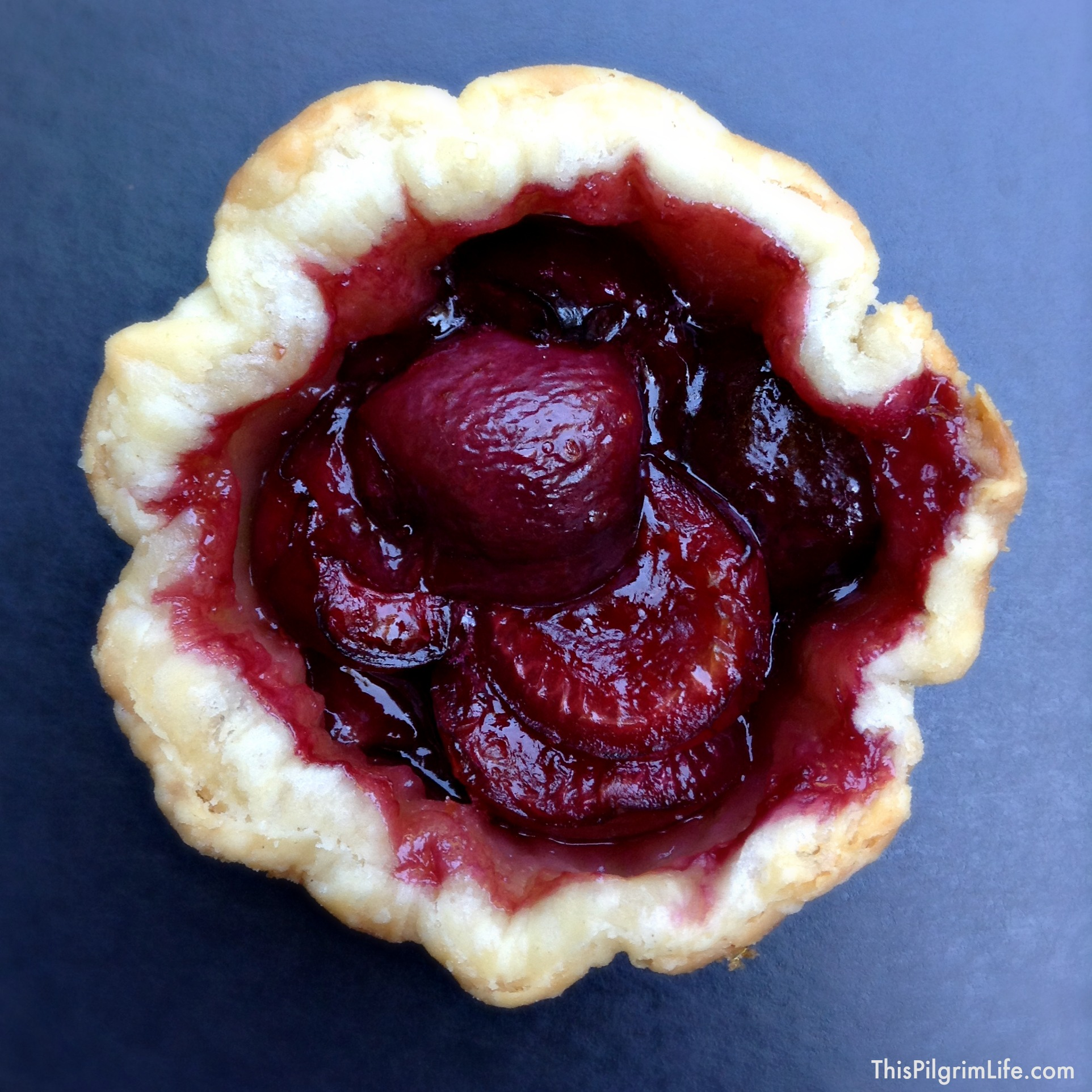 Individual cherry pies, SO GOOD and perfect for outdoor cookouts and holiday gatherings!