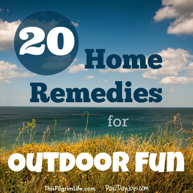 20 Home Remedies for Outdoor Fun