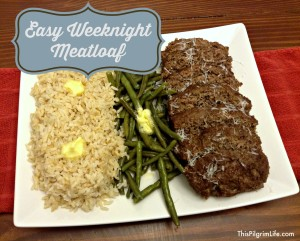A humble, yet delicious, dish-- meatloaf is easy to prepare and makes a healthy and simple weeknight meal idea!
