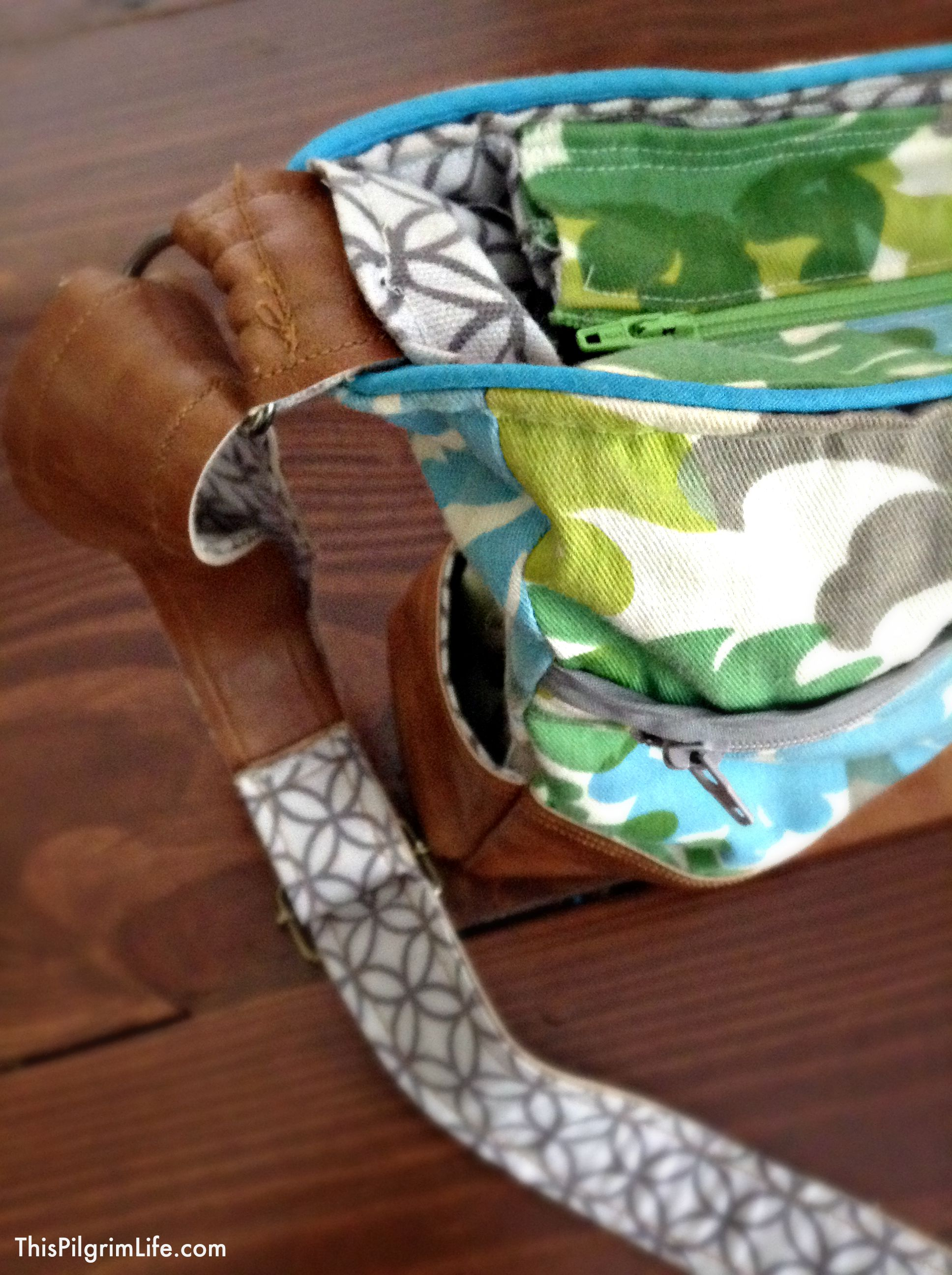 Everyday Zippered Tote Tutorial