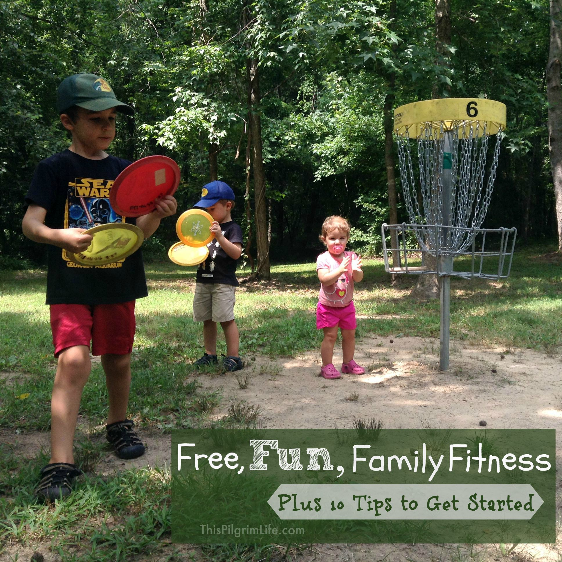 This is one our favorite games to play as a family-- it's free, outdoors, and something we can do all together (even the toddler!).