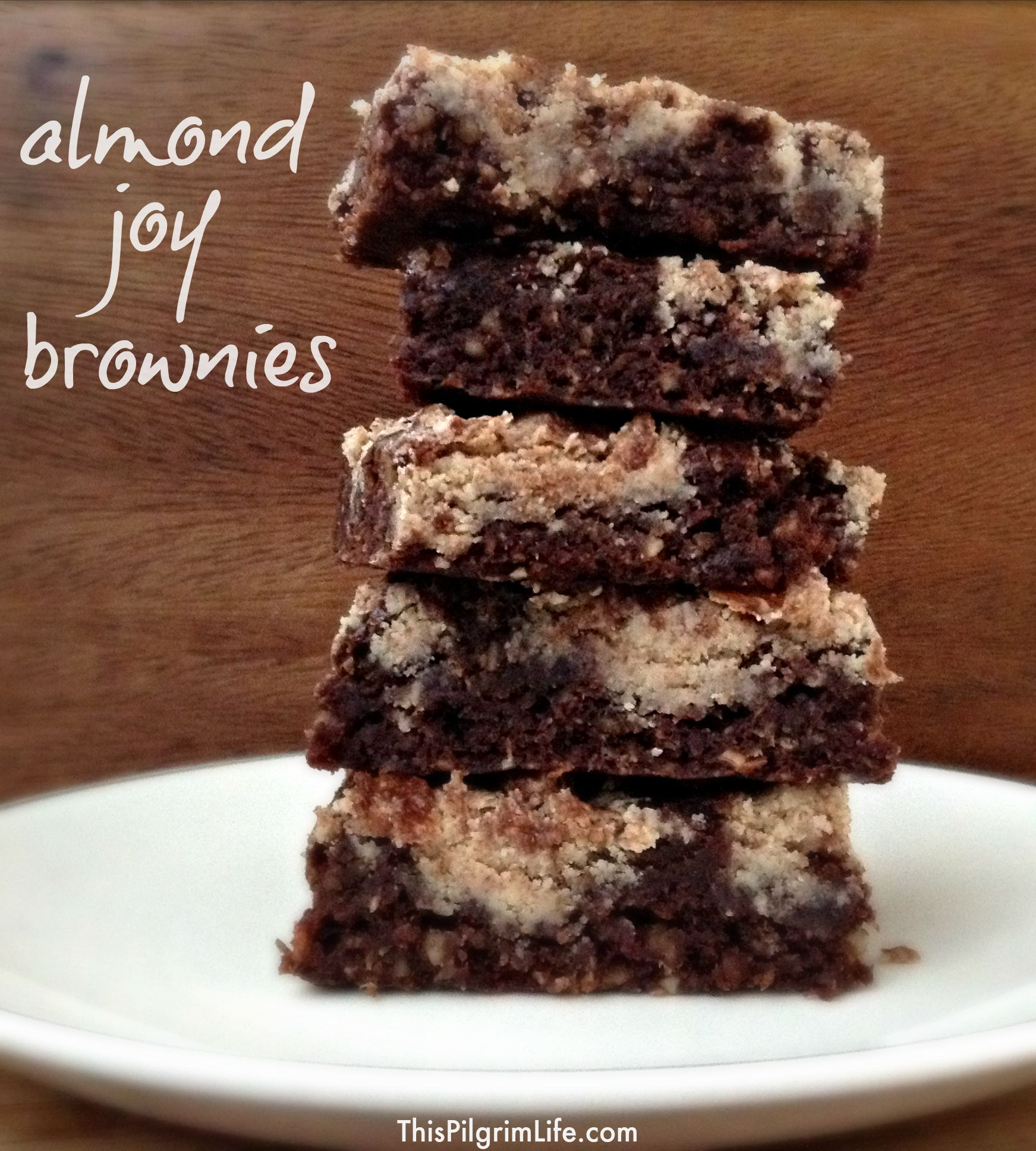 These almond joy brownies are delicious AND gluten-free and dairy-free. Quick and simple to make, too.