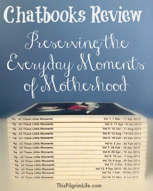 Chatbooks Review- Preserving the Everyday Moments of Motherhood