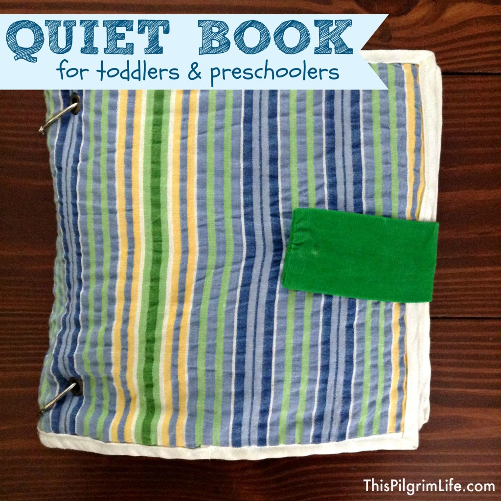 Make a quiet book for toddlers and preschoolers with interactive pieces, removable toys, colorful activities, and pages that can be taken out! It's a simple and fun way to keep little ones occupied!
