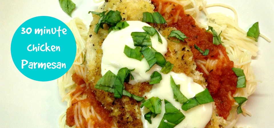 30 Minute Chicken Parmesan-soliloquy