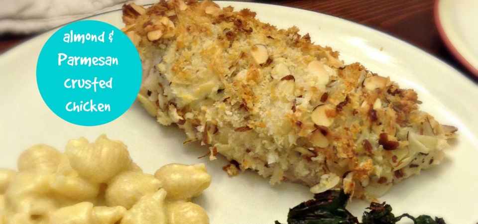 Almond & Parmesan Crusted Chicken-soliloquy